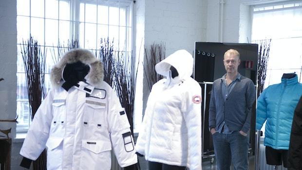 efterligning af canada goose jakke